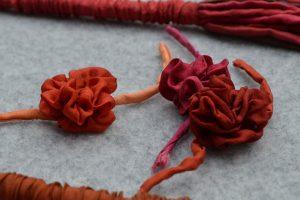 Seidenblumen-rot