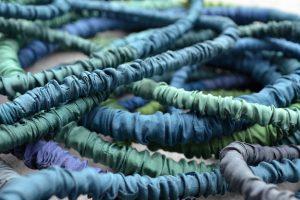 Seidenketten-blau