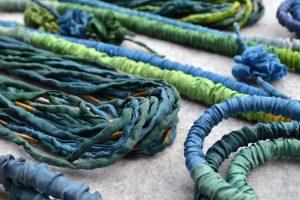 Seidenkollektion-blau